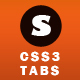 SOLID - CSS3 Responsive Tabs - CodeCanyon Item for Sale