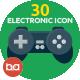 30 Electronics Icons