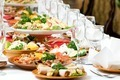 catering food table set decoration - PhotoDune Item for Sale