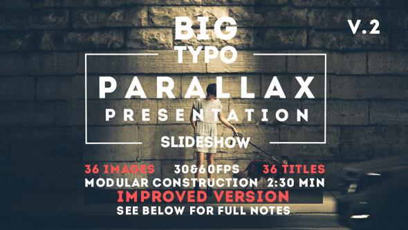 Big Typo Parallax Presentation 12819517 - shareDAE