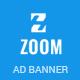 Zoom | Html 5 Animated Google Banner