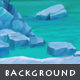 Ice Cave - Game Background