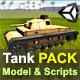 Tank PACK: Model + Scripts - ActiveDen Item for Sale