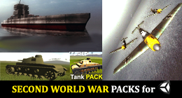 Second World War Packs for Unity3D