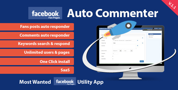 CodeCanyon Facebook Auto Commenter 13097099