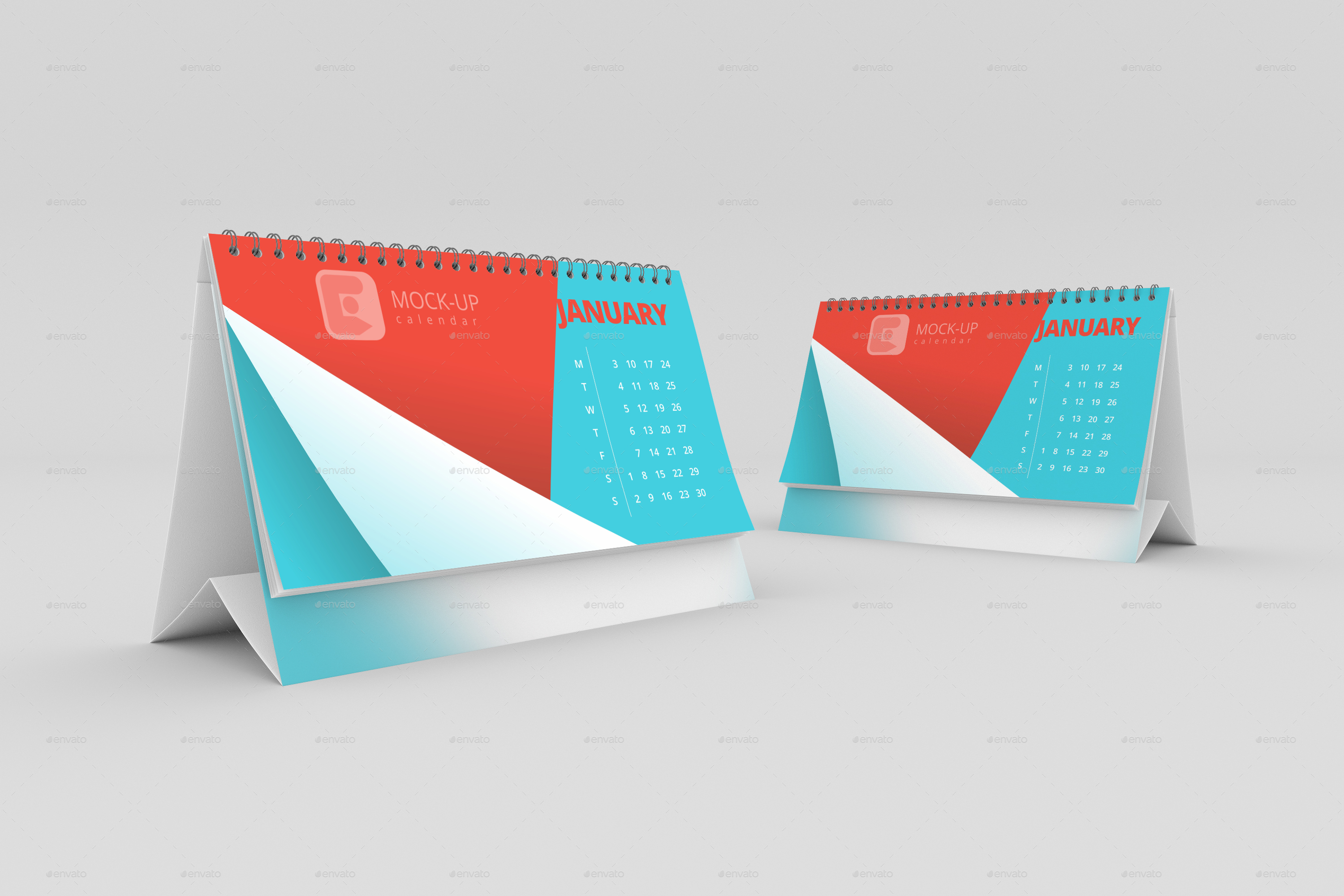 Table Calendar Mockup : Desk calendar mock up by defaultmakers graphicriver