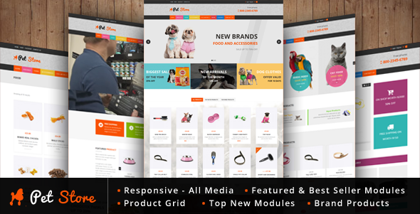 Download Pet Store - WordPress WooCommerce Theme for pets and vets nulled download