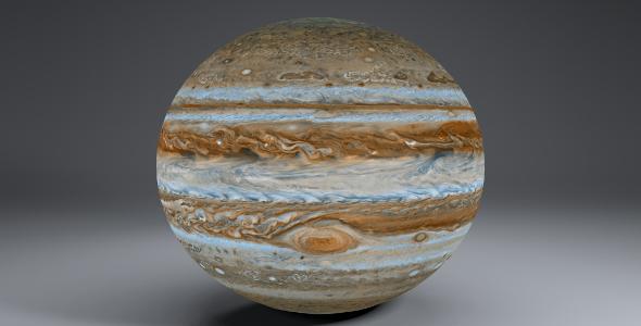 Jupiter 8k - 3DOcean Item for Sale