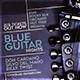 Blue Guitar Event Flyer Template