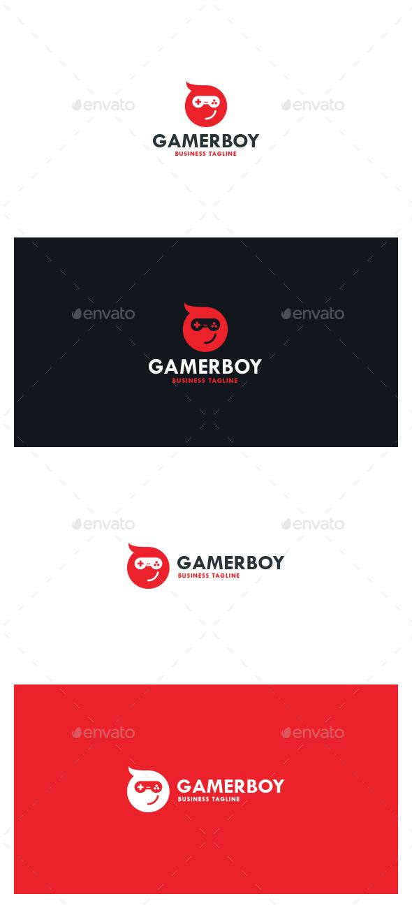 Gamer Boy Logo