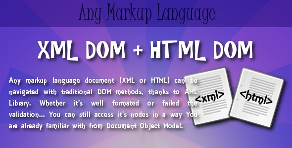 AML - Any Markup Language DOM