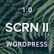 SCRN II - Creative Portfolio WordPress Theme