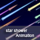 Colorful Star Shower - ActiveDen Item for Sale