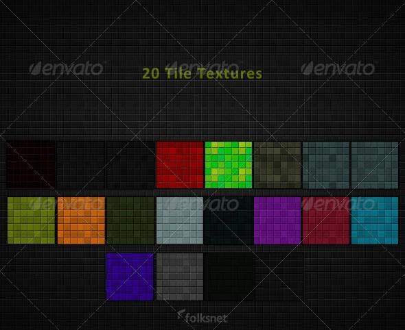 3DOcean Tile Textures 157490