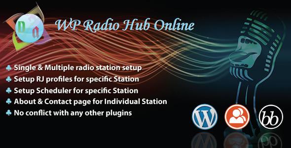 WP Radio Hub Online