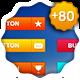 +80 WEB BUTTONS