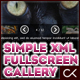 The Simple and Easy Fullscreen XML Image Gallery - ActiveDen Item for Sale