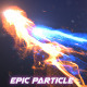 Epic Particle Reveal - Apple Motion