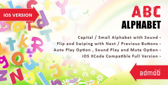 iOS Alphabet - CodeCanyon Item for Sale