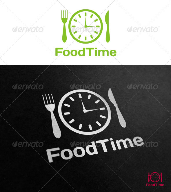 FoodTime Logo - Food Logo Templates