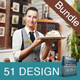 Restaurant Business Advertising Bundle | Volume 11
