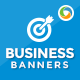 HTML5 Business Banners - GWD - 7 Sizes