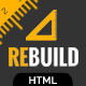 ReBuild - Construction & Renovation HTML Template