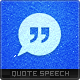Quote Speech Logo Template - GraphicRiver Item for Sale