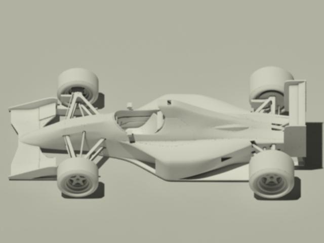 Jordan 191 Formula 1 Car - 3DOcean Item for Sale