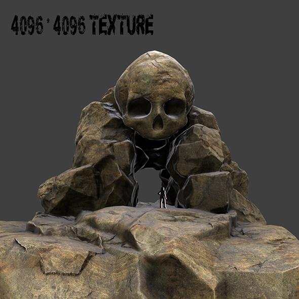 Skull_Cave_2 - 3DOcean Item for Sale