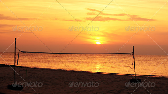 Beach Volleyball - Stock Photo - Images
