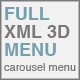 Full XML 3D Carousel Menu - ActiveDen Item for Sale