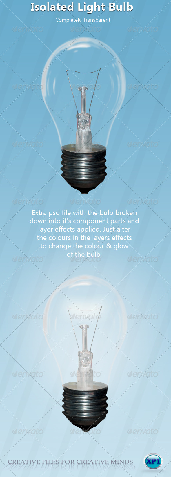 GraphicRiver Transparent Light Bulb 148579