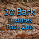 20 Bark Textures - Pack One  - GraphicRiver Item for Sale