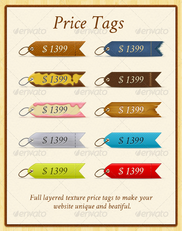 price tags graphicriver