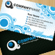 Generic Business Card - Circles and Halftones - GraphicRiver Item for Sale