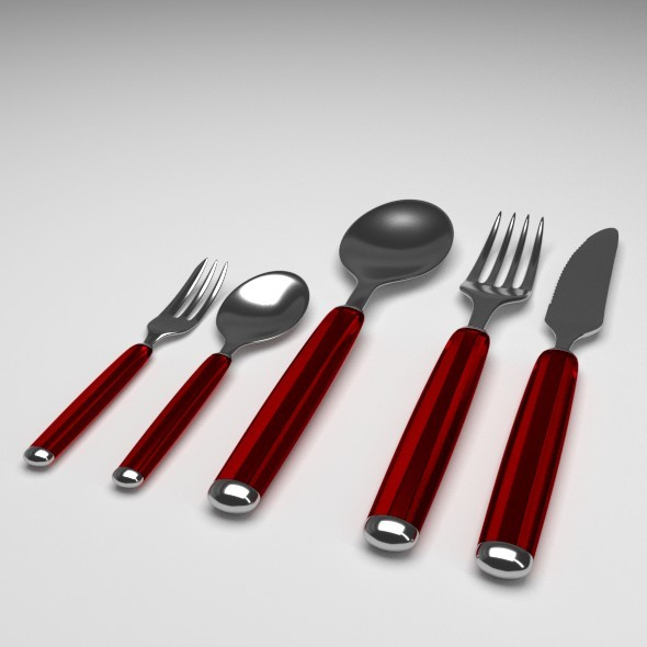 Utensils - 3DOcean Item for Sale