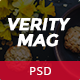 VerityMag - News & Magazine PSD Template - ThemeForest Item for Sale