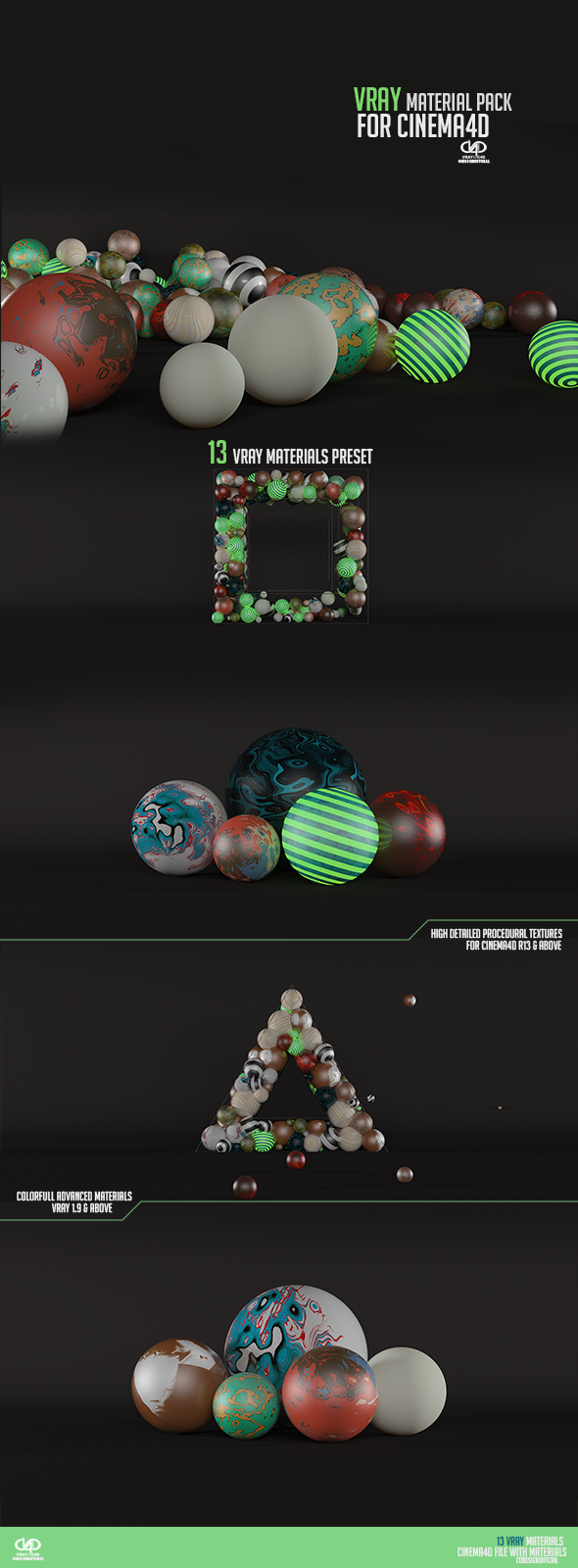 Vray Material Pack & Studio  - 3DOcean Item for Sale