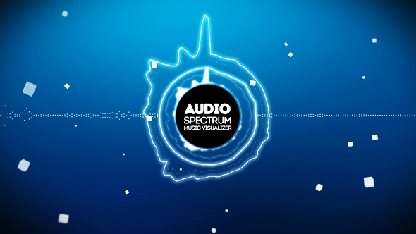 Audio React Spectrum Music Visualizer By Boxmotion Videohive