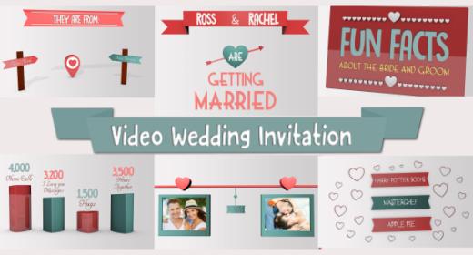 Wedding Video Invite