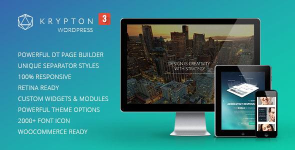 Krypton - Responsive Multipurpose WordPress Theme