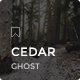 Cedar - Responsive Ghost Theme - ThemeForest Item for Sale