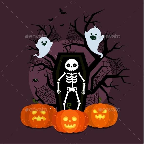 Halloween Illustration.