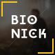 Bionick - Responsive Personal Portfolio Template