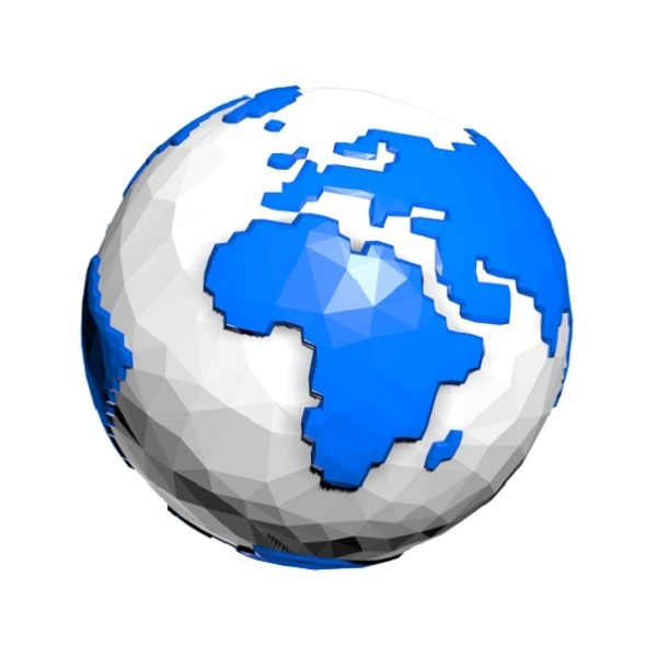 Porcelain Earth Model - 3DOcean Item for Sale