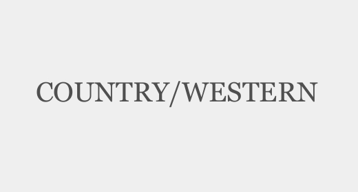 Country,Western