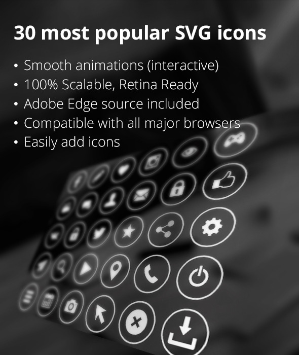 CodeCanyon 30 SVG icons 13101194