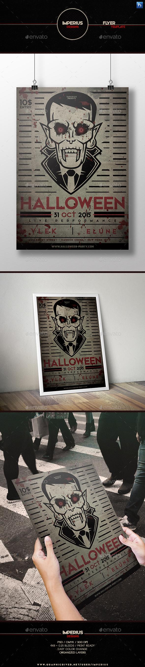 Halloween V4 Flyer