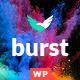 Burst - A Bold and Vibrant WordPress Theme